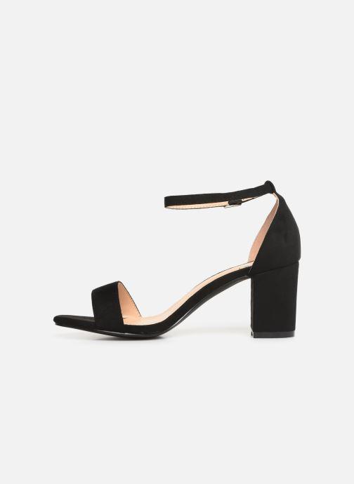 Sandales et nu-pieds I Love Shoes CABBY Noir vue face