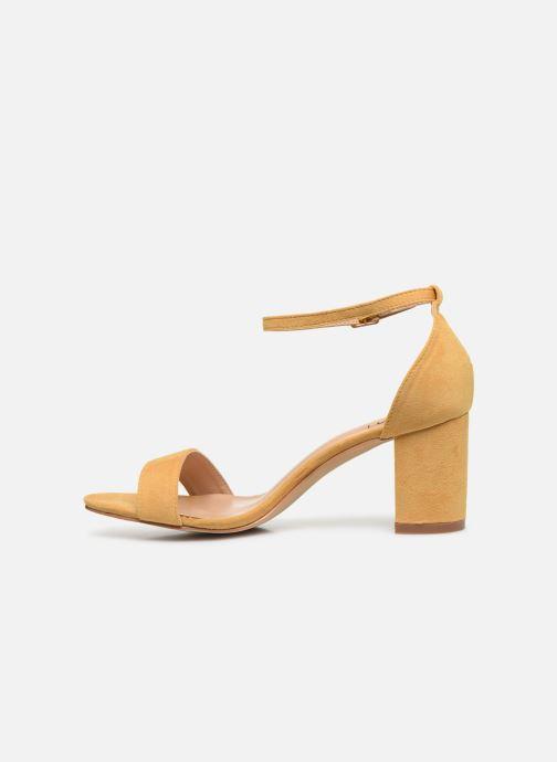 Sandales et nu-pieds I Love Shoes CABBY Jaune vue face