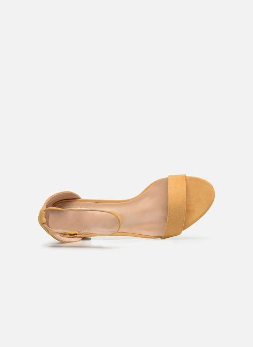 Sandalias I Love Shoes CABBY Amarillo vista lateral izquierda