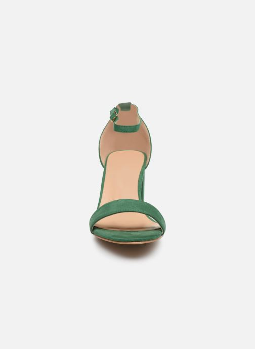 Sandales et nu-pieds I Love Shoes CABBY Vert vue portées chaussures