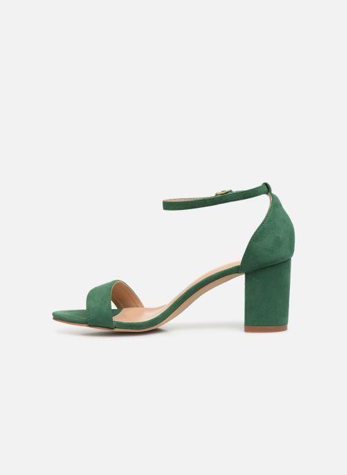 Sandalias I Love Shoes CABBY Verde vista de frente