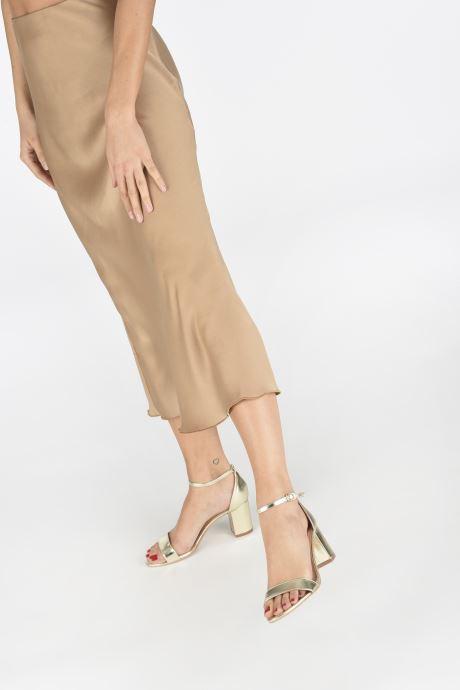 Sandales et nu-pieds I Love Shoes CABBY Or et bronze vue bas / vue portée sac