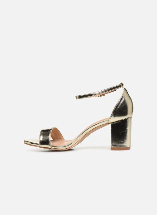 Sandales et nu-pieds I Love Shoes CABBY Or et bronze vue face