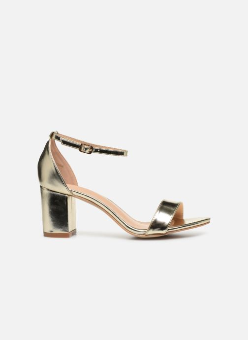 Sandalias I Love Shoes CABBY Oro y bronce vistra trasera