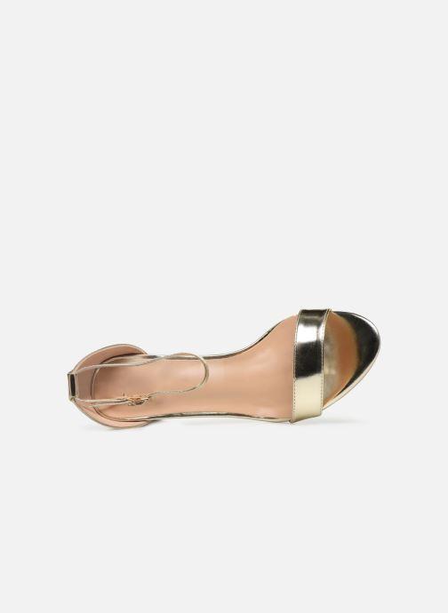 Sandalias I Love Shoes CABBY Oro y bronce vista lateral izquierda