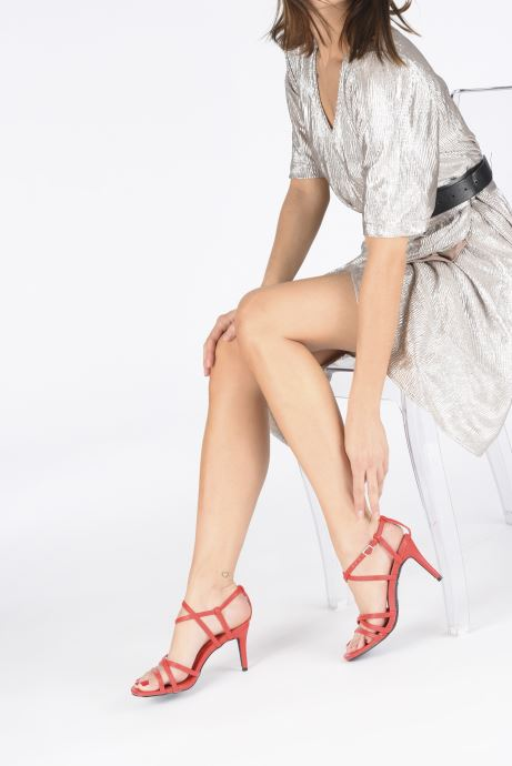 Sandales et nu-pieds I Love Shoes CASPAGH Rouge vue bas / vue portée sac