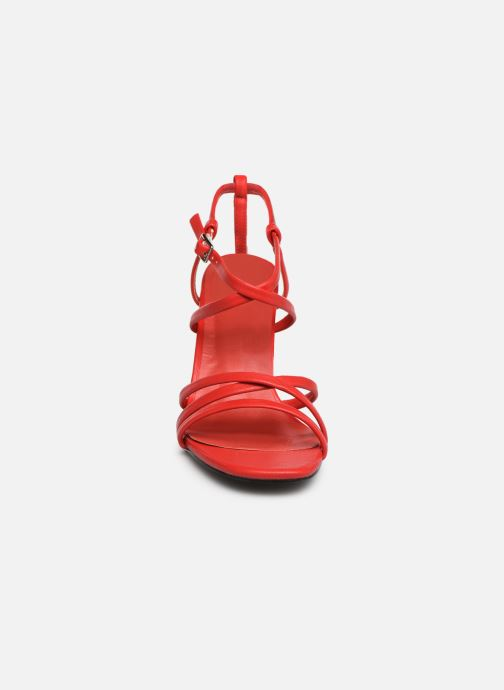 Sandales et nu-pieds I Love Shoes CASPAGH Rouge vue portées chaussures