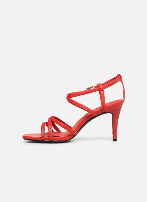 Sandales et nu-pieds I Love Shoes CASPAGH Rouge vue face