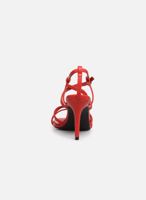 Sandalias I Love Shoes CASPAGH Rojo vista lateral derecha