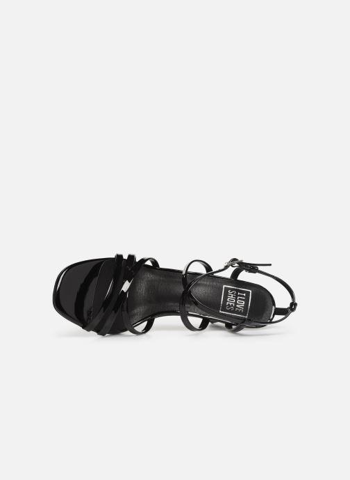Sandales et nu-pieds I Love Shoes CASPAGH Noir vue gauche