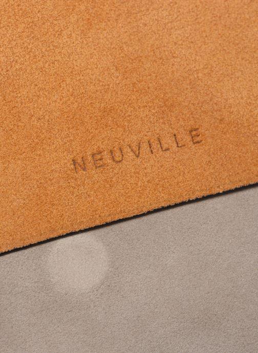 Sacs à main Neuville City Jaune vue gauche