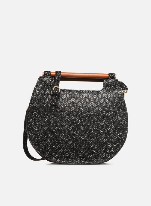 Handtassen Neuville Basket Zwart detail