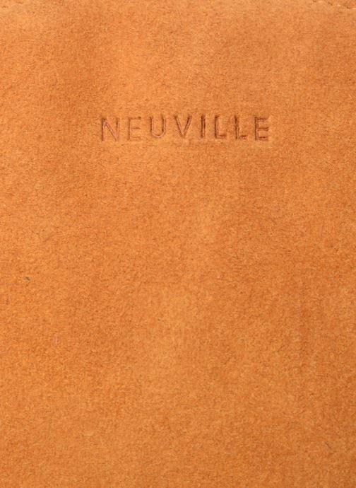 Marroquinería pequeña Neuville Cute Amarillo vista lateral izquierda