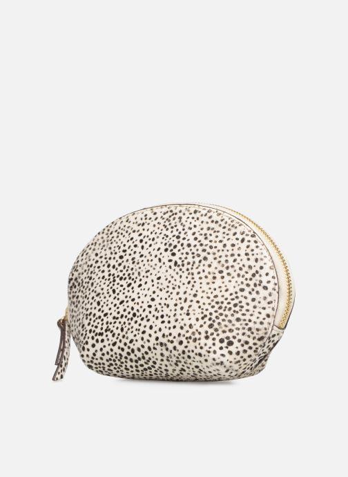 Petite Maroquinerie Neuville Cute Blanc vue portées chaussures