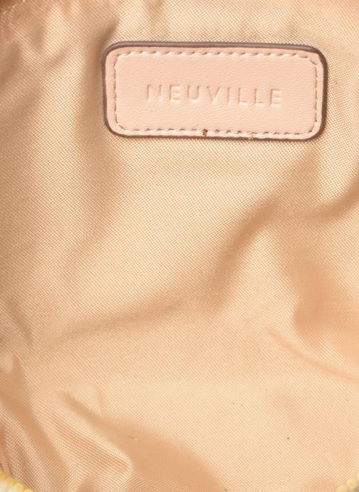 Petite Maroquinerie Neuville Cute Blanc vue derrière