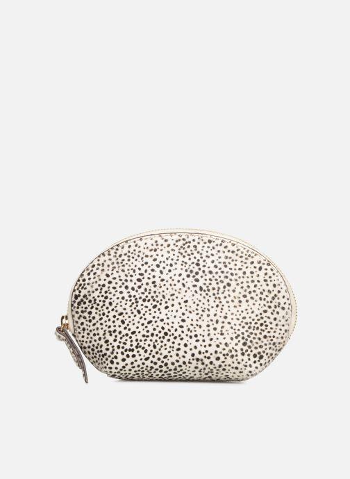 Petite Maroquinerie Neuville Cute Blanc vue détail/paire