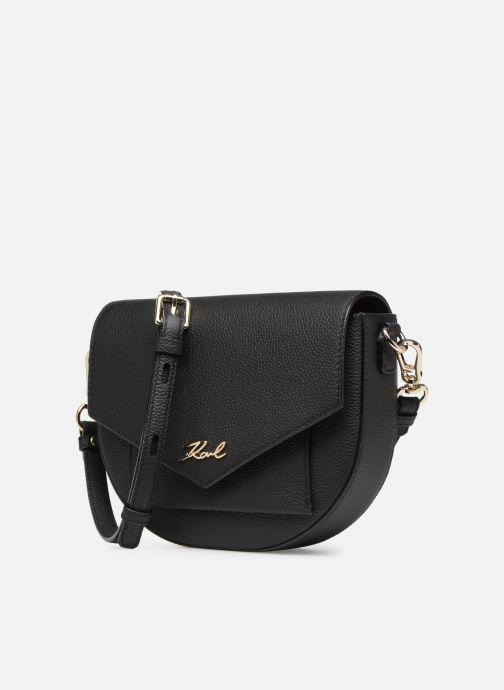 Bolsos de mano Karl Lagerfeld KKARRY ALL CROSSBODY Negro vista del modelo