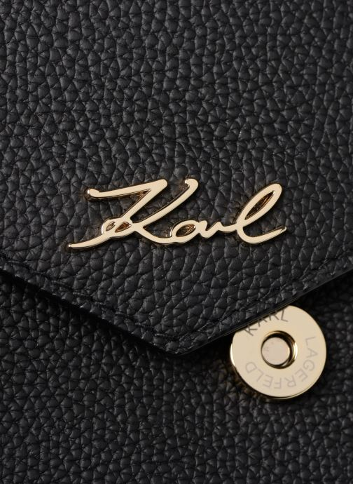 Sacs à main Karl Lagerfeld KKARRY ALL CROSSBODY Noir vue gauche
