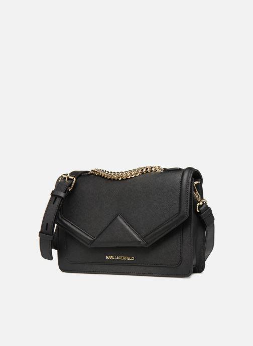 Bolsos de mano KARL LAGERFELD K/KLASSIC SHOULDERBAG Negro vista del modelo