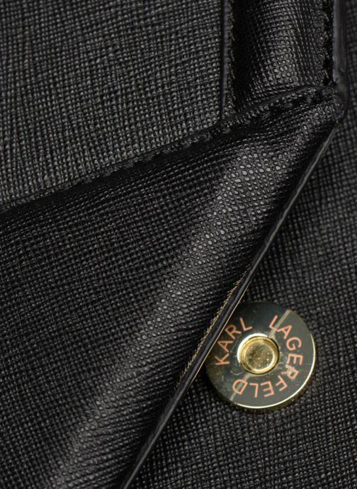 Sacs à main KARL LAGERFELD K/KLASSIC SHOULDERBAG Noir vue gauche