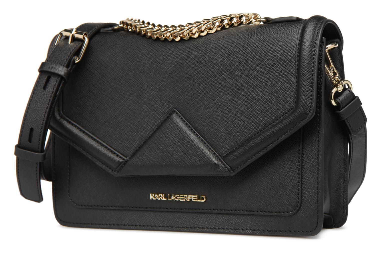 Sacs à main KARL LAGERFELD K/KLASSIC SHOULDERBAG Noir vue portées chaussures