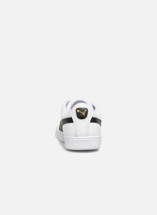 Sneakers Puma Basket Classics Lfs Wit rechts