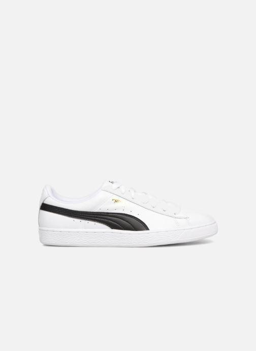 Sneakers Puma Basket Classics Lfs Wit achterkant