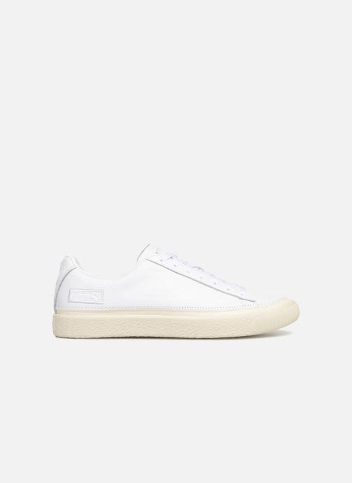 Sneakers Puma Basket Stiched White Hvid se bagfra