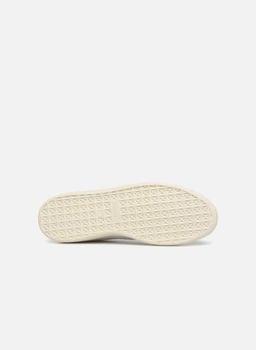 Sneakers Puma Basket Stiched White Hvid se foroven