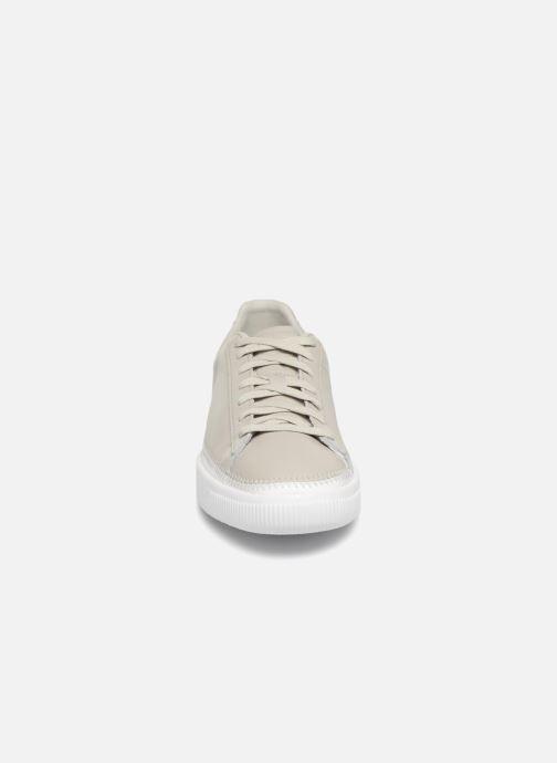 Sneakers Puma Basket Stiched Grey Grå se skoene på