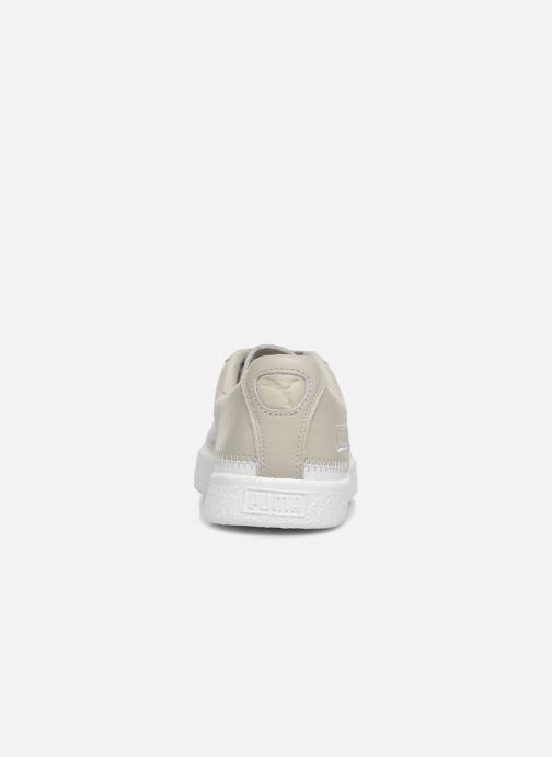 Sneakers Puma Basket Stiched Grey Grå Se fra højre