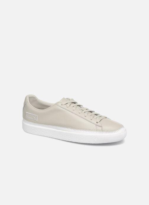 Sneakers Puma Basket Stiched Grey Grå detaljeret billede af skoene