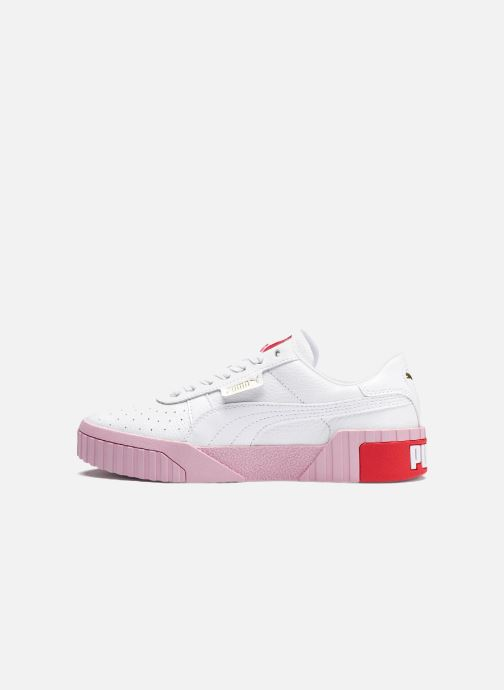 Wn's White Puma pale Pink Cali Baskets 3cq5RA4jL
