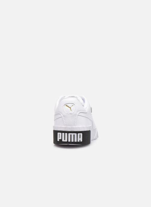Deportivas Puma Cali Wn'S Blanco vista lateral derecha