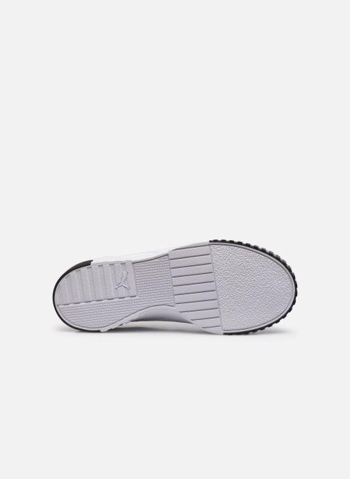 Sneaker Puma Cali Wn'S weiß ansicht von oben