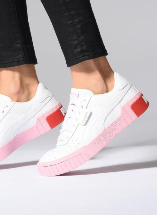 Sneaker Puma Cali Wn'S schwarz ansicht von unten / tasche getragen