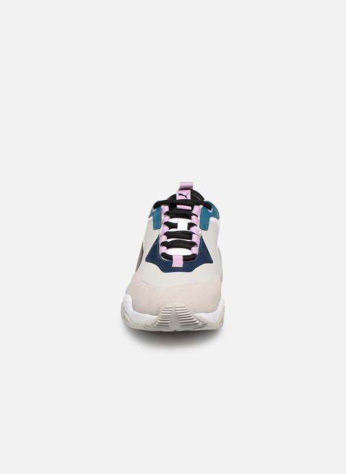 Baskets Puma Thunder Rive Droite Wn'S Gris vue portées chaussures