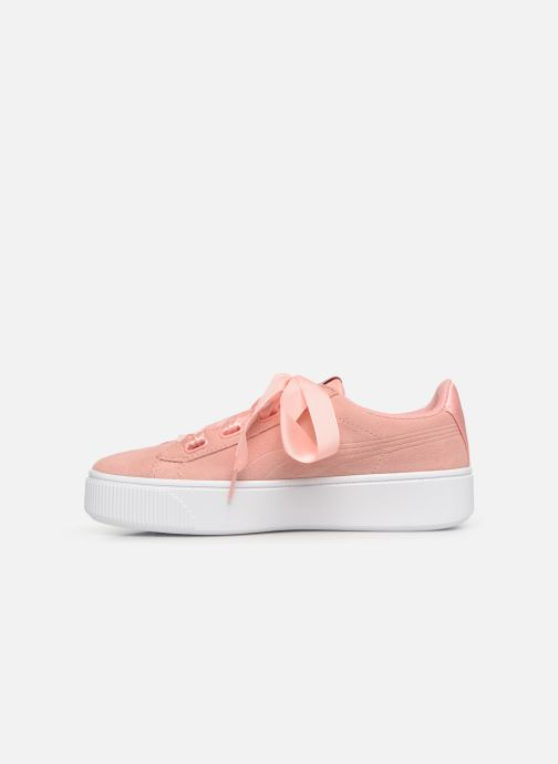 Baskets Puma Vikky Platform Rose vue face