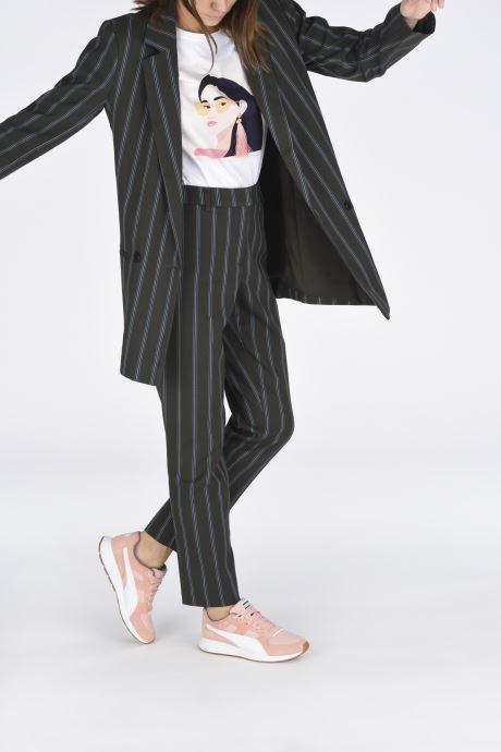 Sneaker Puma Rs-150 Nylon Wn'S rosa ansicht von unten / tasche getragen