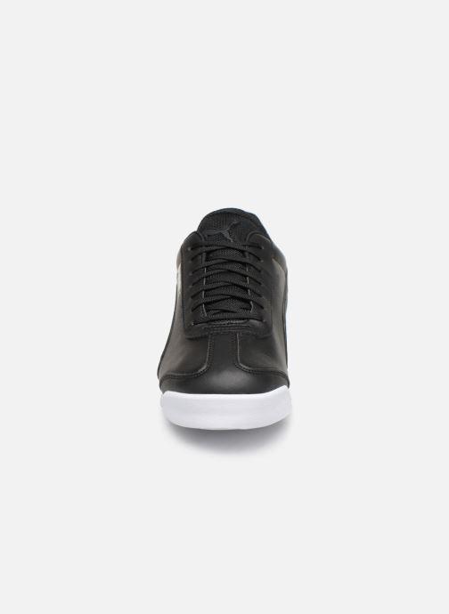 Baskets Puma BMW Mms Roma M Noir vue portées chaussures