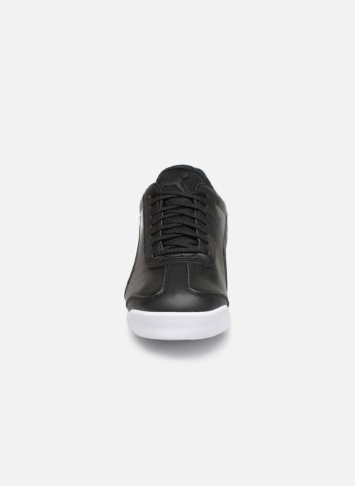 Sneaker Puma BMW Mms Roma M schwarz schuhe getragen