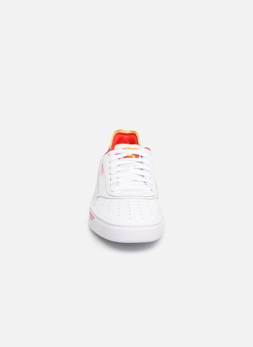 Baskets Puma Cali-0 Drive Thru Cc Blanc vue portées chaussures