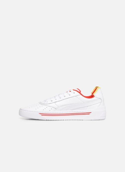 Sneakers Puma Cali-0 Drive Thru Cc Wit voorkant