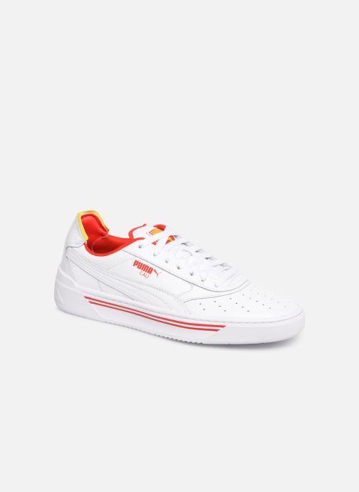 Sneakers Puma Cali-0 Drive Thru Cc Hvid detaljeret billede af skoene