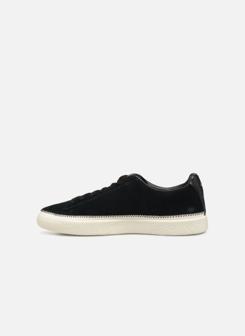 Sneakers Puma Suede Trim Sort se forfra