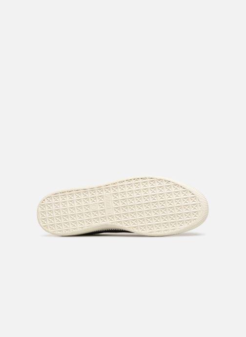 Sneakers Puma Suede Trim Nero immagine dall'alto