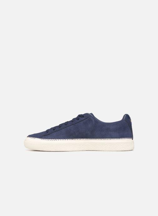 Sneakers Puma Suede Trim Blå se forfra