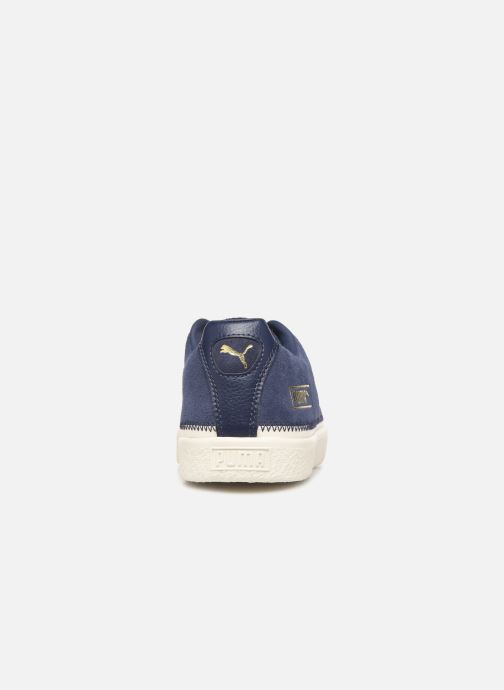 Trainers Puma Suede Trim Blue view from the right