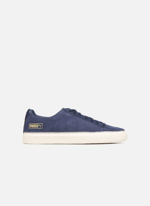 Sneakers Puma Suede Trim Blå se bagfra