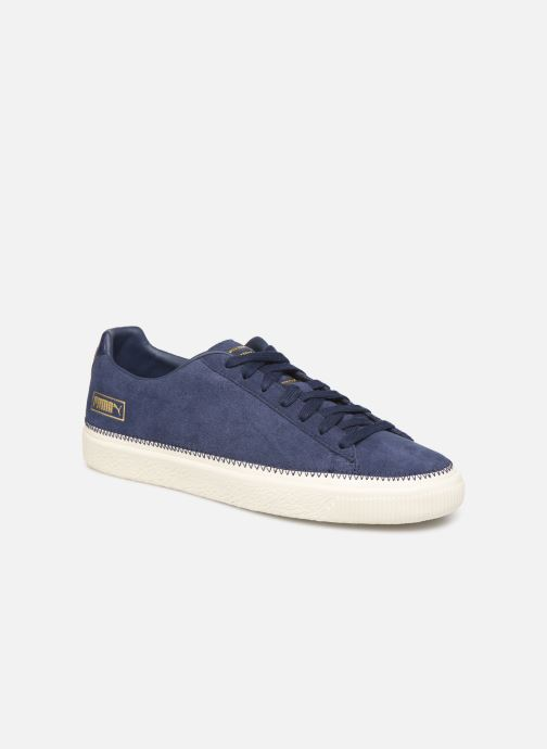 Trainers Puma Suede Trim Blue detailed view/ Pair view